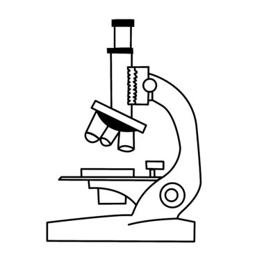 A microscope used in health research.